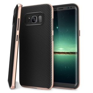 Accessories - Samsung Galaxy S8 Cell Phone Case Black Rose Gold